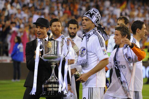 El conjunto madridista fue Campeón de la Copa del Rey de esta tem...