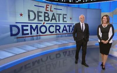 Jorge Ramos y María Elena Salinas te invitan al debate demócrata de Univ...
