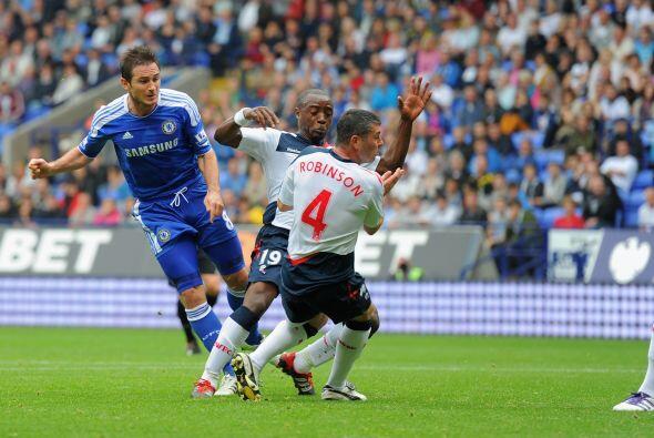 El capitán del Chelsea tuvo otra actuación envidiable, ante el Bolton.