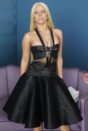 Sin embargo, Lady Gaga no se preocupa por estas imágenes.
