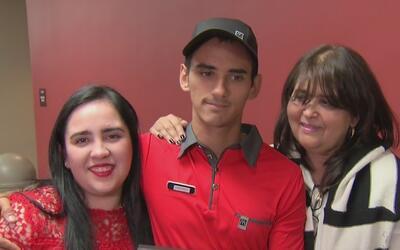 Venezolano que arriesgó su vida para salvar la de una agente de policía...