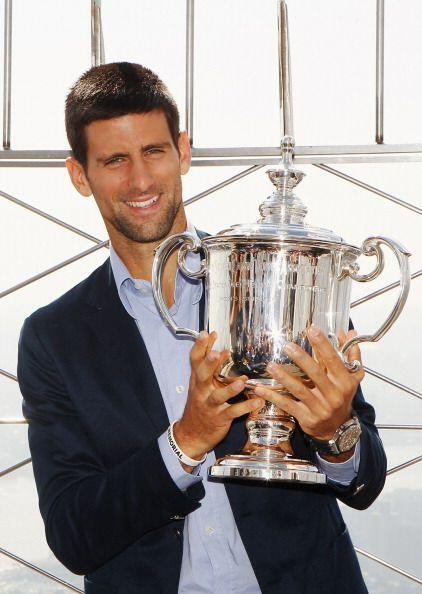 Djokovic, de 24 años, derrotó en la final al españo...