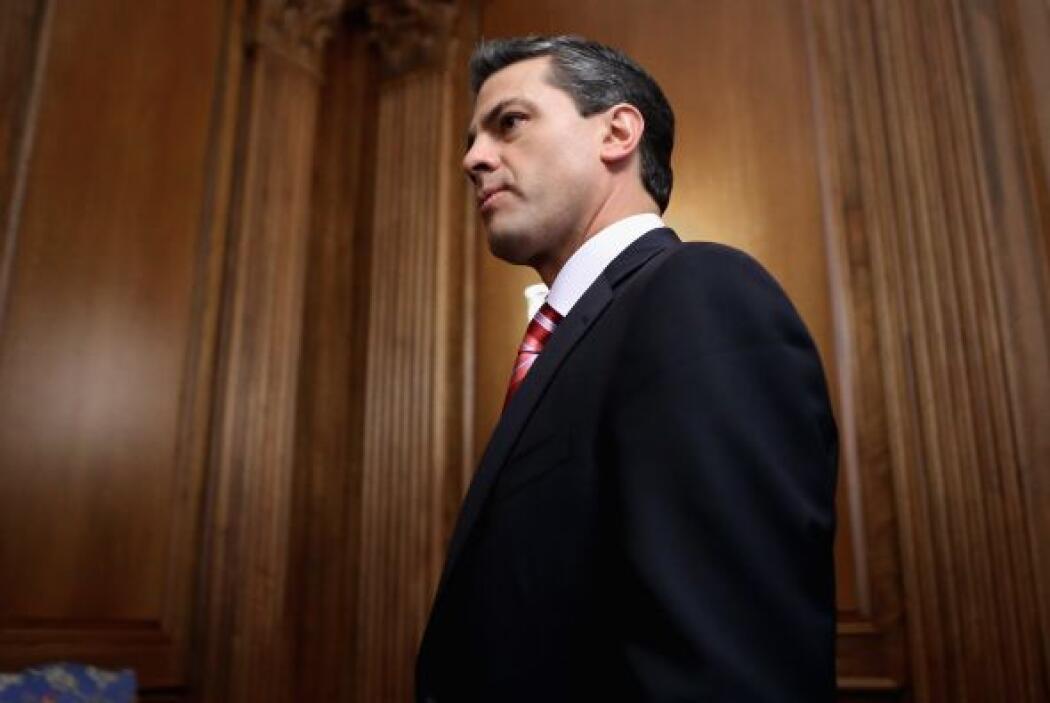 Por su parte, Peña Nieto hizo énfasis en el interés de su entrante Gobie...
