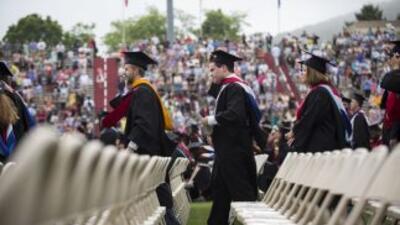 Una graduación en Virginia