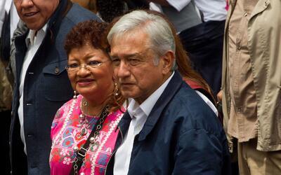 López Obrador se reunió con inmigrantes mexicanos en Manhattan