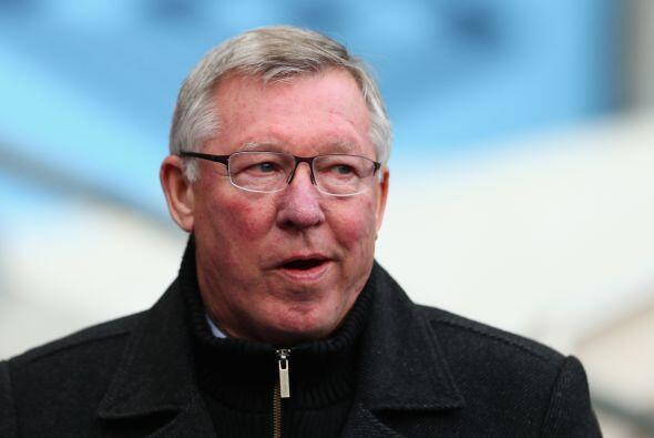 El entrenador elegido es Sir Alex Ferguson, que sacó un valioso triunfo...