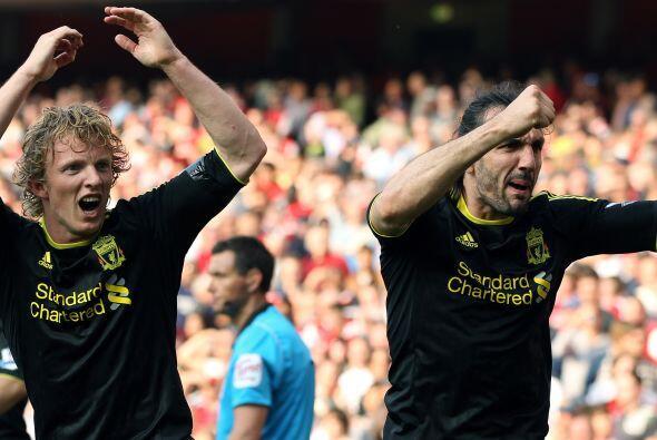 Increíble pero cierto, el Liverpool arrancaba un empate inesperado.