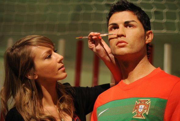 Para todas las personas que sueñan con estar frente a Cristiano Ronaldo...