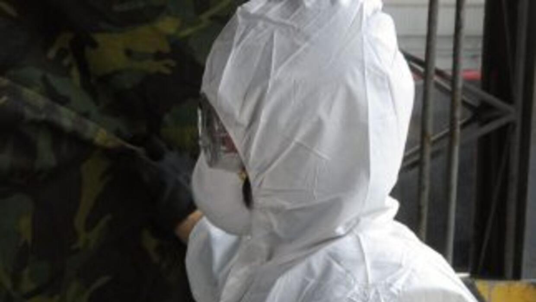 El nivel de radiación que encontraron en el avión no presentó riesgo par...