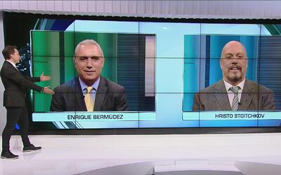 El 'Perro' Bermúdez le narró un gol a Hristo, pero lo hizo en búlgaro