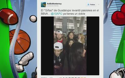 Un falso Gignac arrasó con las selfies en el concierto de Justin Bieber...