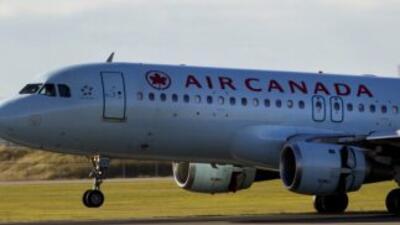 Avión de Air Canadá.