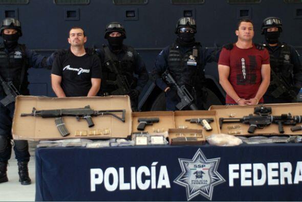 4 de febrero. La Policía Federal mexicana presentó a José Antonio Torres...