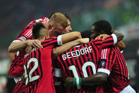 El Milan ganó al Cesena con un tempranero tanto de Seedorf, un go...