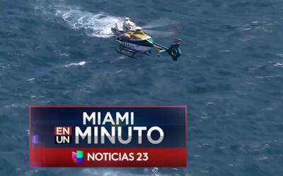 'Miami en un Minuto': dos personas muertas y una herida por el naufragio...