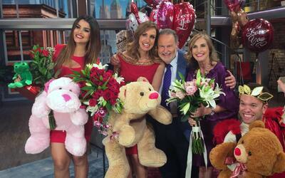 La Gozadera, celebramos el día de San Valentín con la visita de la espos...