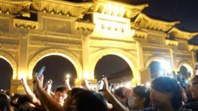 Los celulares has sido de mucha ayuda durante las protestas en Hong Kong.