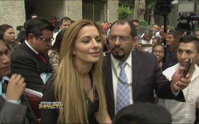 Cecilia Galeano confirmó que ganó una instancia contra Sebastián Rulli