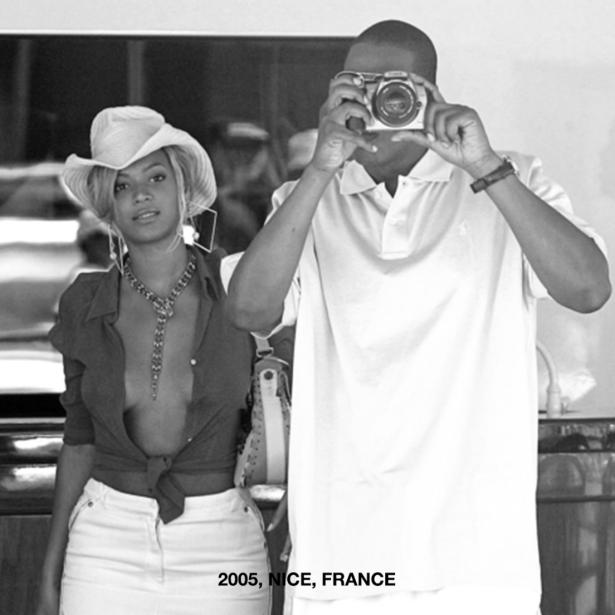 Los esposos en un viaje a Francia, en 2005.