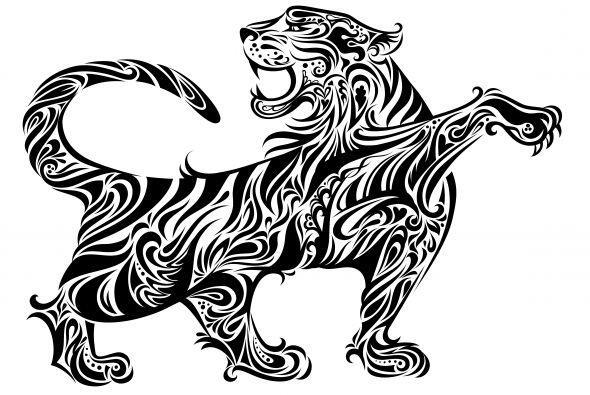 El Mes del Tigre en el horóscopo chino se extiende desde el 20/21 de ene...