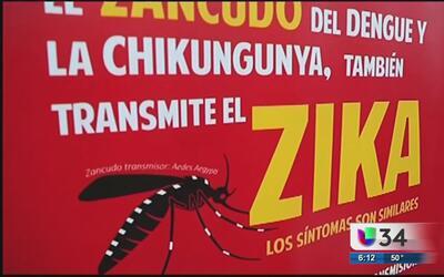 Aumentan casos de virus Zika