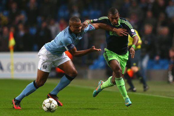 En el otro partido del Grupo D, el Manchester City necesitaba sacar un t...