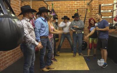 Fer quiere ser protagonista de un video musical de La Maquinaria Norteña