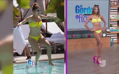 Desfile de bikinis en vivo, mira las tendencias que están usando las est...