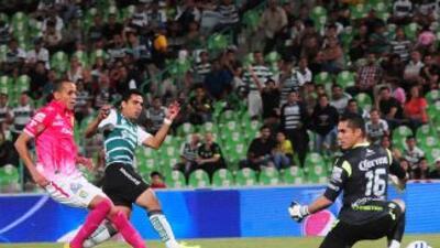 Jesús Escoboza marcó el segundo gol del partido.