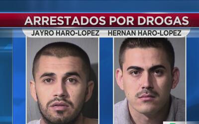 Arrestan a hermanos con 90 kilos de metanfetaminas