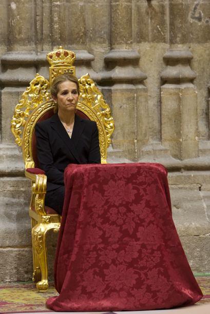 A la misa asistió la Infanta Elena, representando a la familia re...