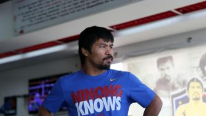 Manny Pacquiao sacó buen aprendizaje de la pelea contra Juan Manuel Márq...