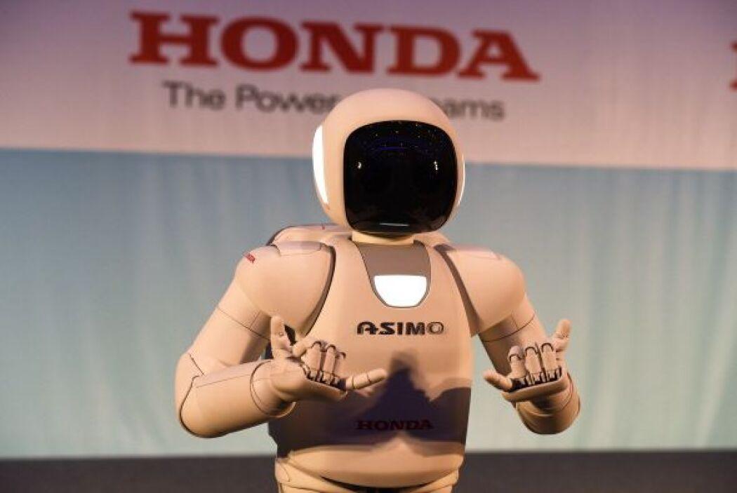 Se trata de un robot humanoide desarrollado por la compañía japonesa Hon...