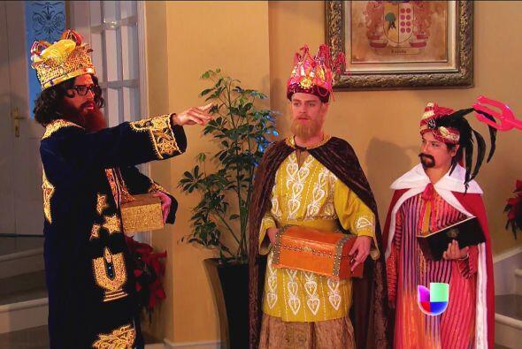 Los Reyes tienen unos súper poderes y les pusieron un alto a sus...