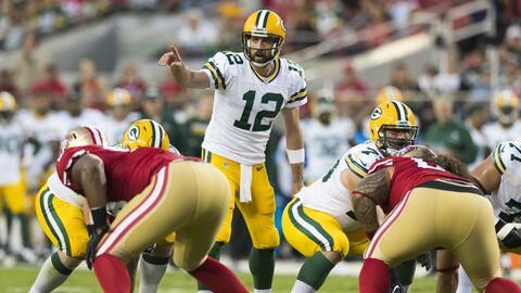 Aaron Rodgers, QB de los Packers, quería y pudo jugar para San Fr...