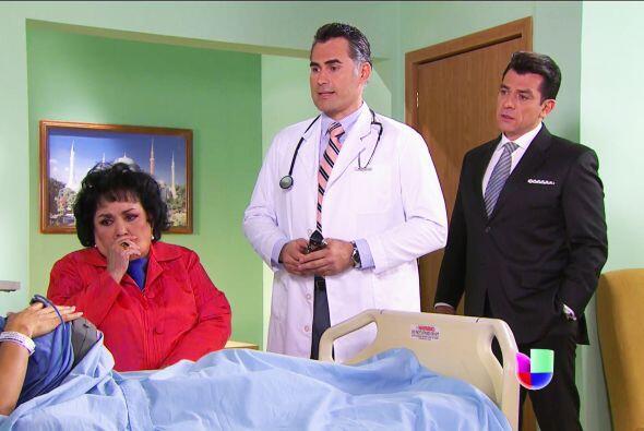 No te sientas sola Isabela, tu mamá y Fernando están junto...