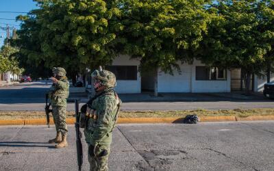 Miembros del Ejército mexicano en Sinaloa. (Imagen de Archivo).