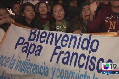 Así fue la llegada del papa Francisco a México