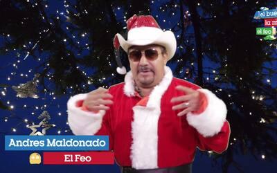 Andrés Maldonado 'El Feo' abre su corazón para desearte un feliz nuevo año
