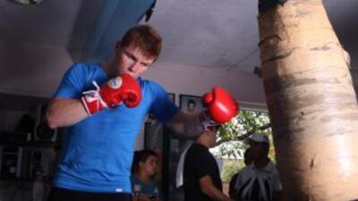 'Canelo' se prepara para derrotar a Mosley (Foto. Canelo Promotions)