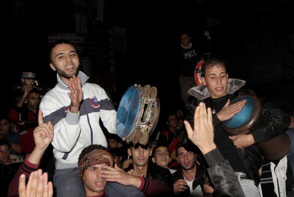 Tras una semana sangrienta, la mediación egipcia logró que...