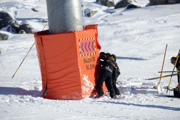 El 29 de diciembre del 2013 sufrió un accidente esquiando en las...