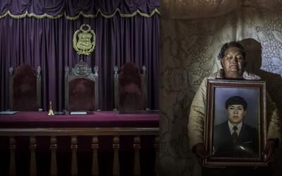 Espera. Celsa Taco recibió los restos de su hijo 33 años después de su d...