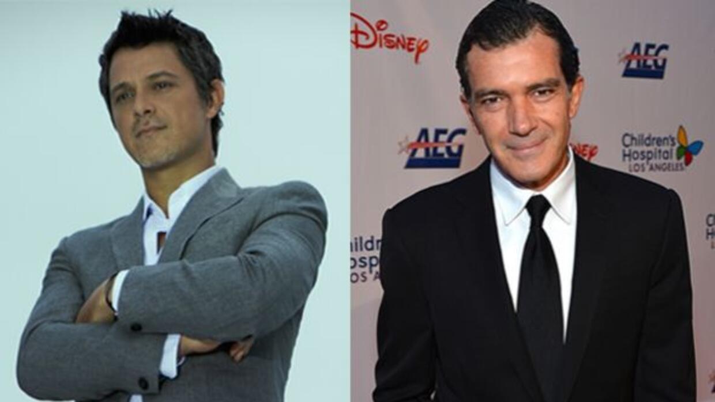 Antonio Banderas anunció que cantará al lado de Alejandro Sanz en la gal...