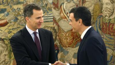 Pedro Sánchez y el rey