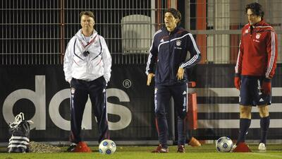Luca Toni coincidió en el Bayern Munich con van Gaal