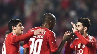 Vencieron 3-0 al Vitória.