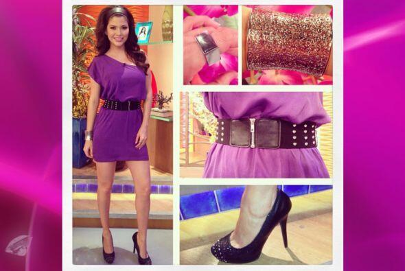 Cada mañana Ana se inspira para combinar zapatos, ropa, accesorio...