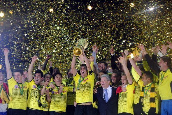Borussia Dortmund Campeon de Copa