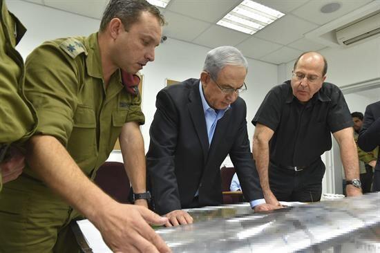 El primer ministro israelí, Benjamin Netanyahu, acusó al grupo islámico...